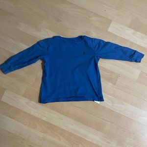 Polo Ralph Lauren Boys Blue Long Sleeve T-Shirt 2T
